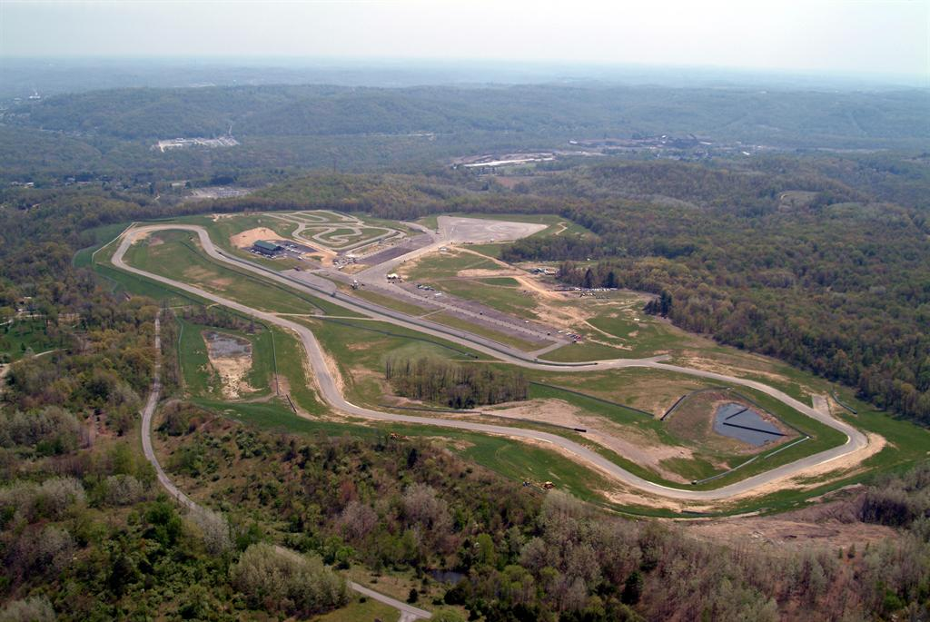 Pittsburgh International Race Aerial View