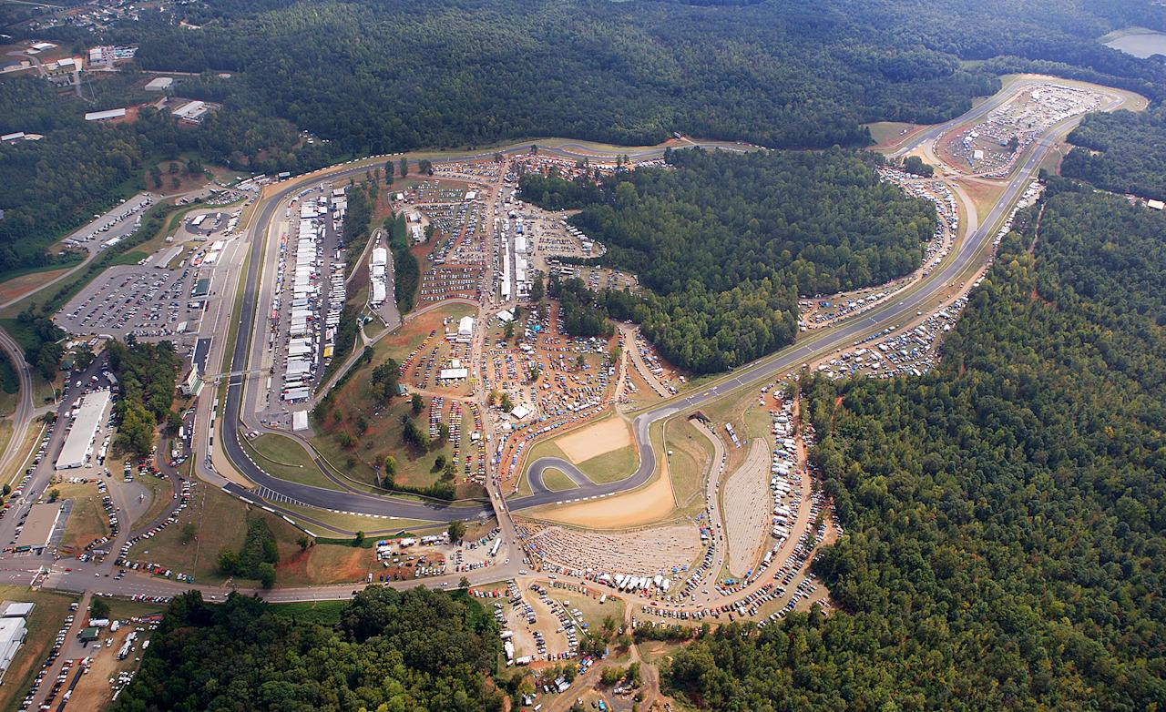 Road Atlanta Aerial View